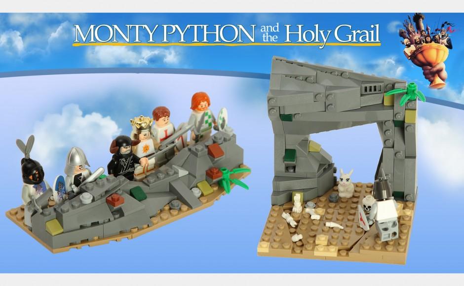 Monty Python – skecze i filmy z klocków lego
