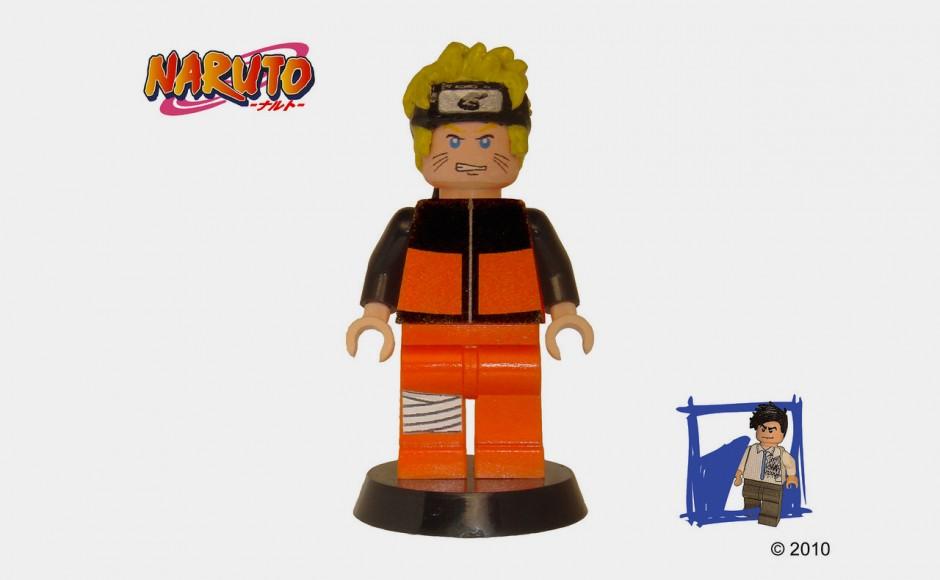 Naruto i Naruto Shippuuden z klocków lego