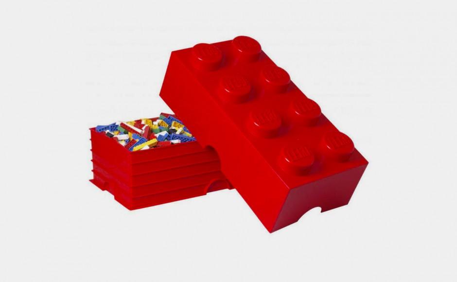 Najlepsze pudełko na klocki lego to… też klocek