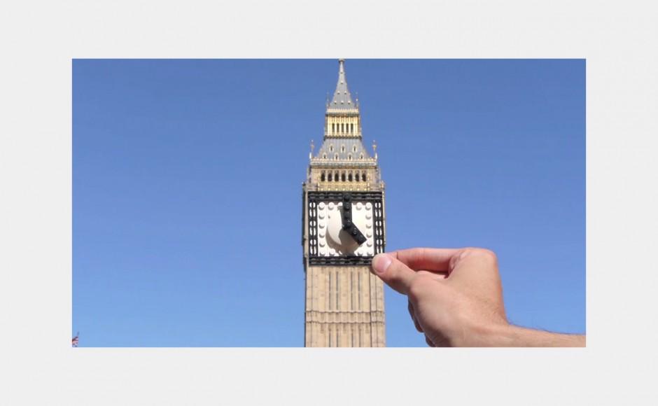 Londyn widziany przez pryzmat klocków lego