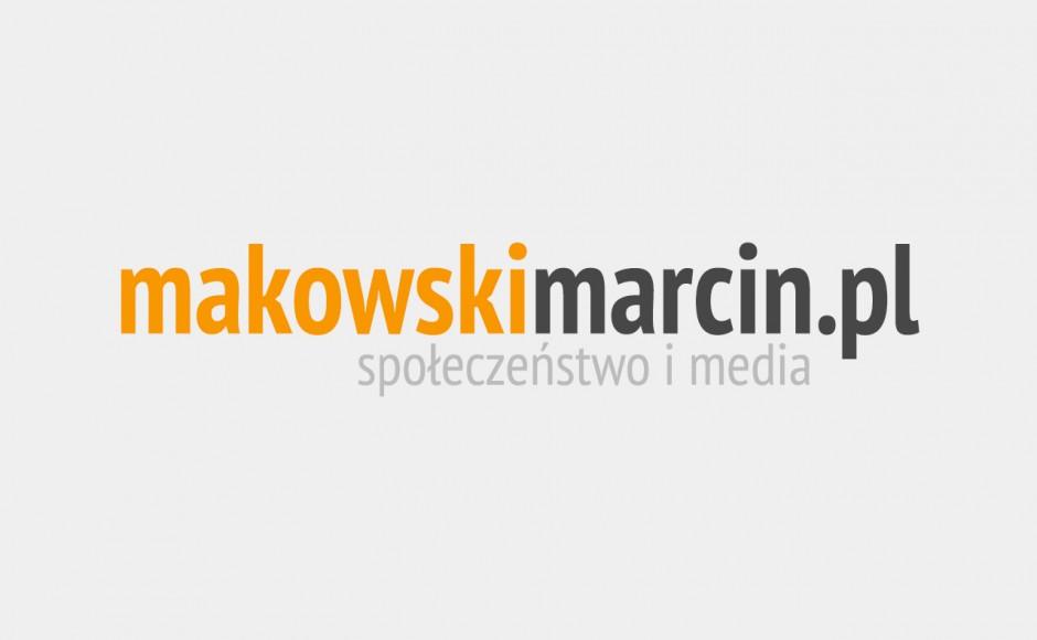 Nowy blog: Marcin Makowski – Społeczeństwo i media