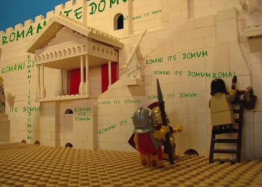 Romani ite domum Life of Brian LEGO