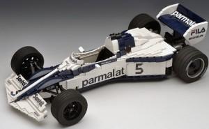 F1 z klocków lego, czyli historia najwspanialszych bolidów