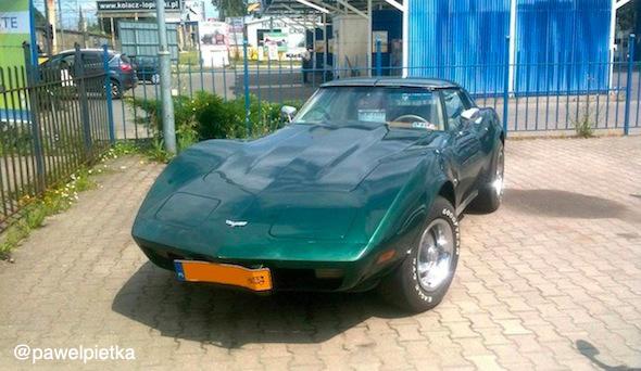 Chevrolet Corvette Szczecin