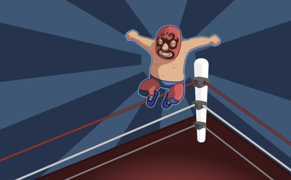 Wrestling z klocków lego: Let's Get Ready To Rumble!