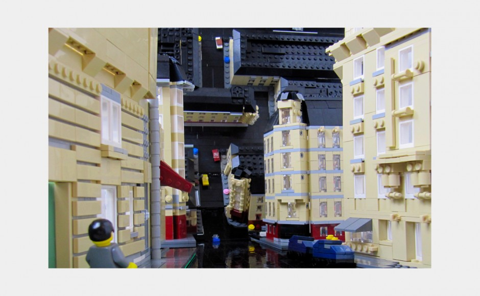 Incepcja z klocków lego (Inception 2010)