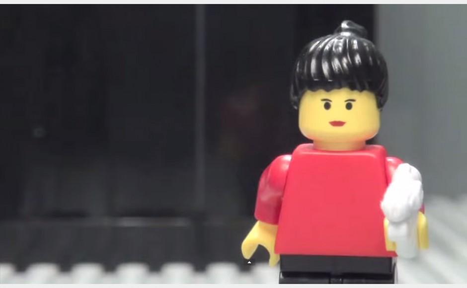 Gra Portal z klocków lego (animacja poklatkowa)