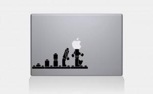 O klockach i naklejkach na MacBooka raz jeszcze