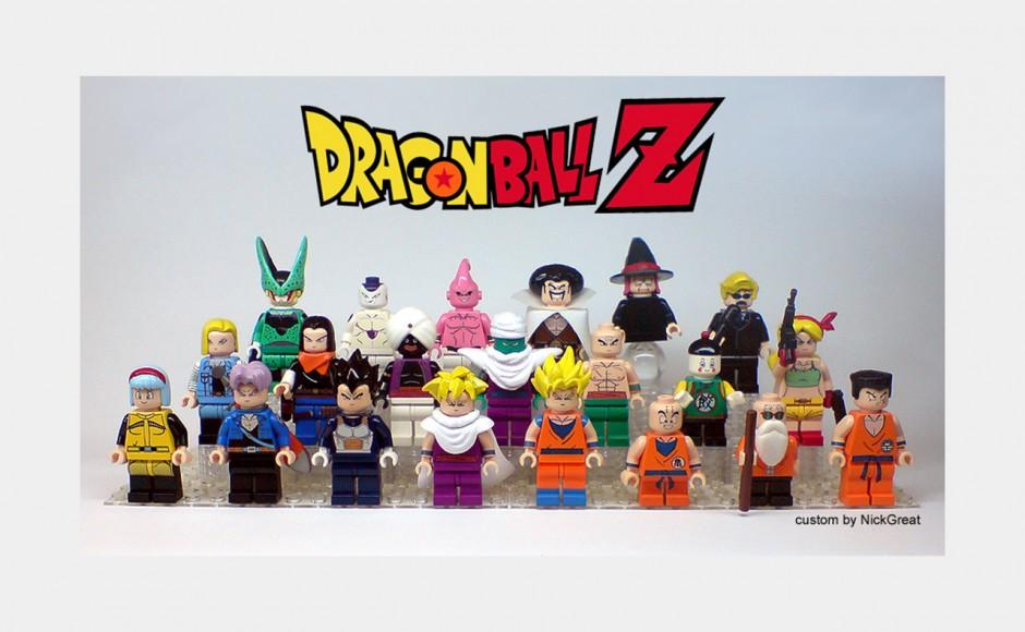 Dragon Ball z klocków lego, czyli kanciasty Son Goku