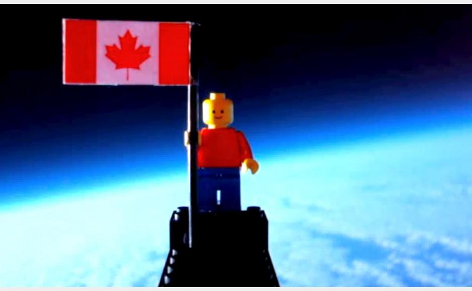 Ludzik lego w kosmosie (Lego Man in Space)