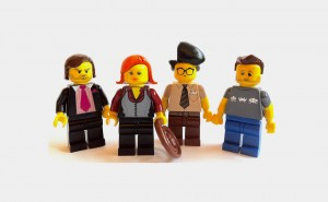 The IT Crowd (Technicy-magicy) z klocków lego