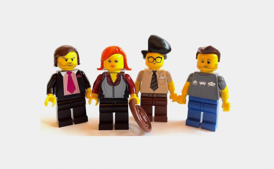 The IT Crowd (Technicy-magicy) z klocków lego