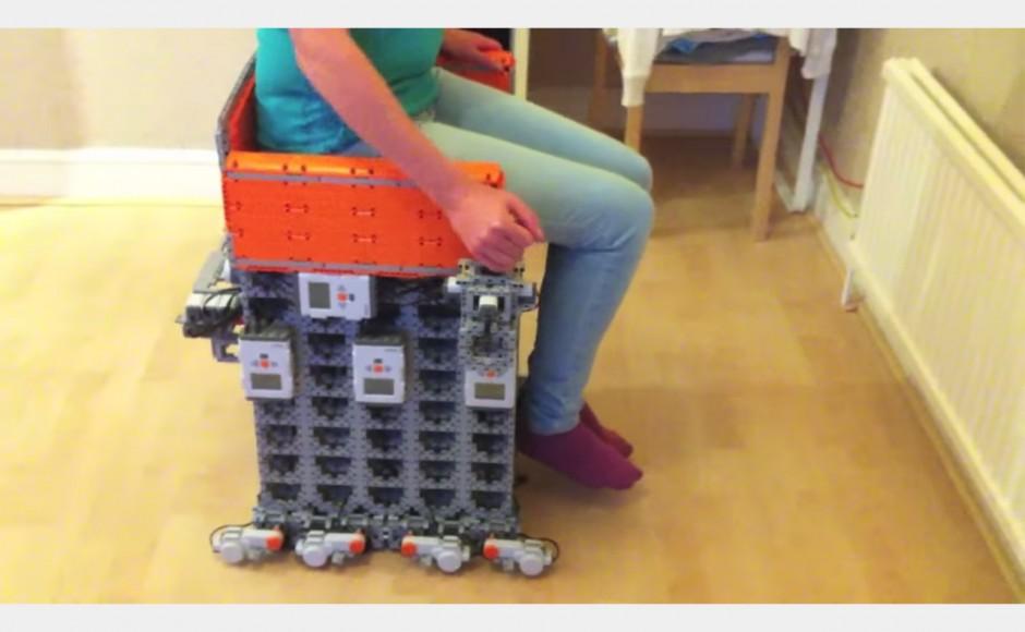 LEGO Mindstorms i ciekawy projekt wózka inwalidzkiego
