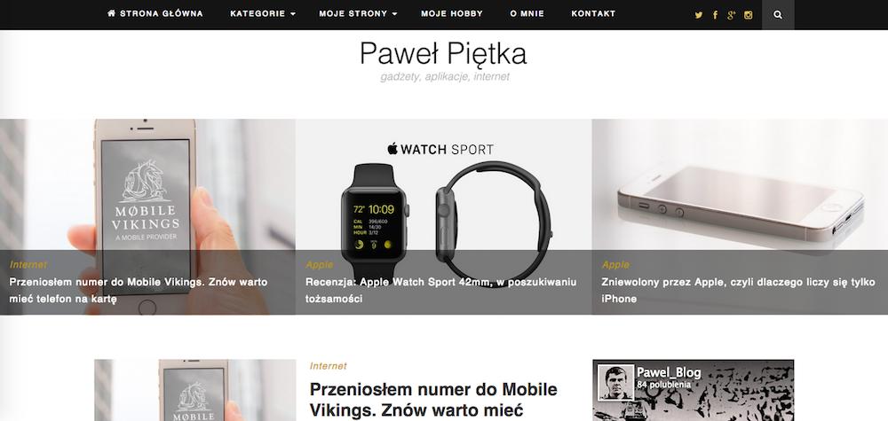 Strona internetowa pawelpietka-pl