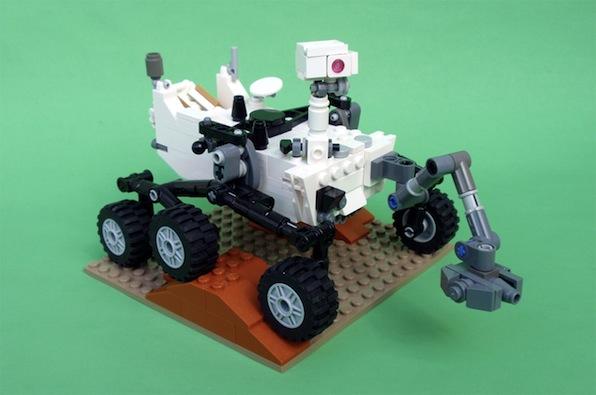 Curiosity LEGO Mars