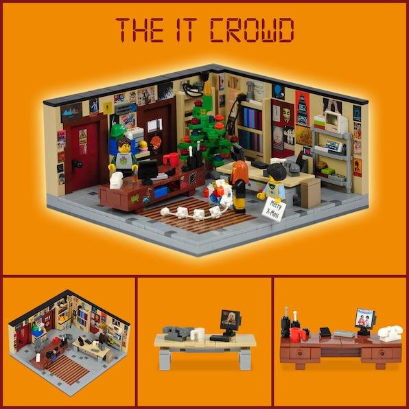 LEGO IT Crowd