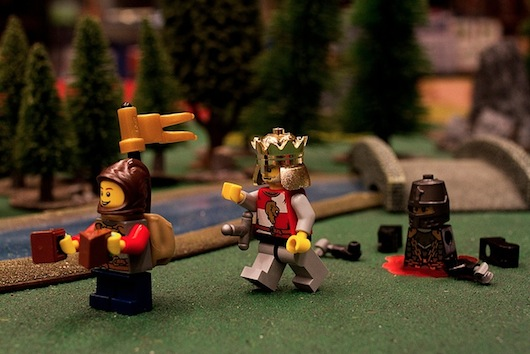 Monty Python and the Holy Grail LEGO