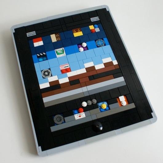 iPad 3 LEGO