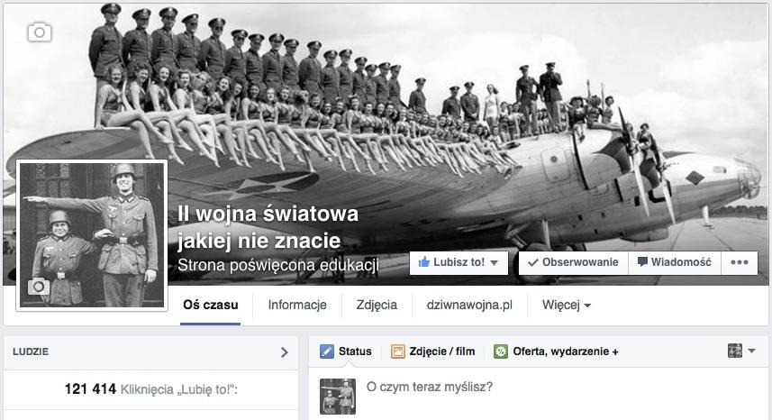 ii wojna swiatowa jakiej nie znacie fani facebook
